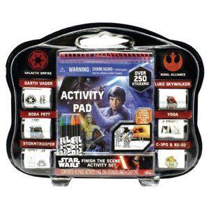 Star Wars Activity Set Finish the Scene w/Stickers